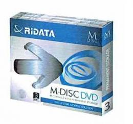 M-DISC DVD+R 4.7GB 3pack