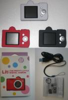 Lit PRETTY LITTLE DIGITAL CAMERA 白