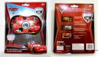 Disney Cars 2.1-Megapixel Digital Camera - Red キッズ(子供)カメラ